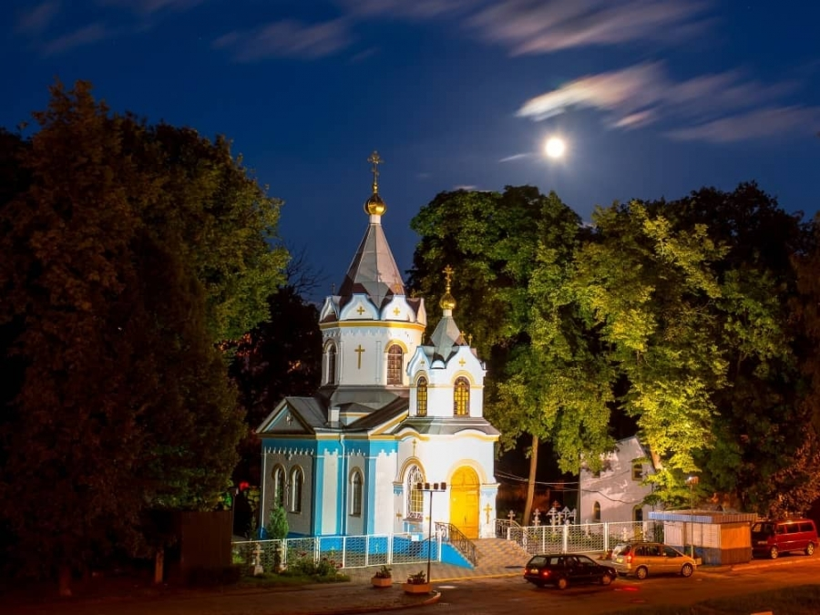 The Church of the Dormition of the Holy Mother of God in Jelgava